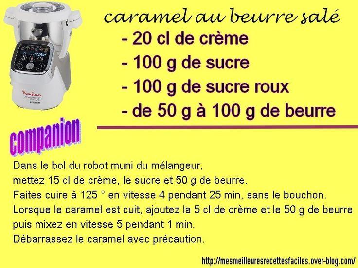Caramel au beurre salé avec le companion