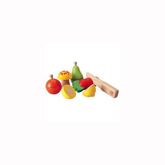 Warzywa i owoce (18mc+) / Plan Toys blubalon.pl