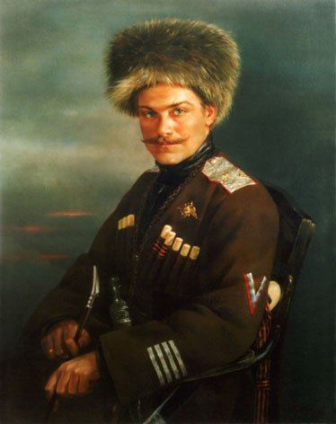 А. Г. Шкуро. General Shkuro. White Army.