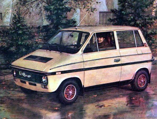 Lada Kolobok Prototype, 1985