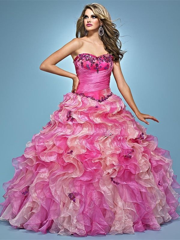 65 best Ball gown prom dresses images on Pinterest | Evening gowns ...