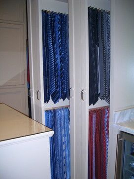 Tie Hooks On Shallow Closet Wall.Ties Design Ideas, Pictures, Remodel, And  Decor   Page 4