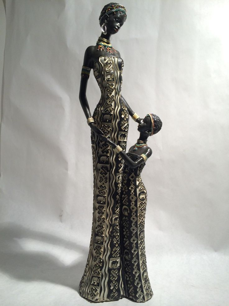 Popular items for african woman statue on Etsy