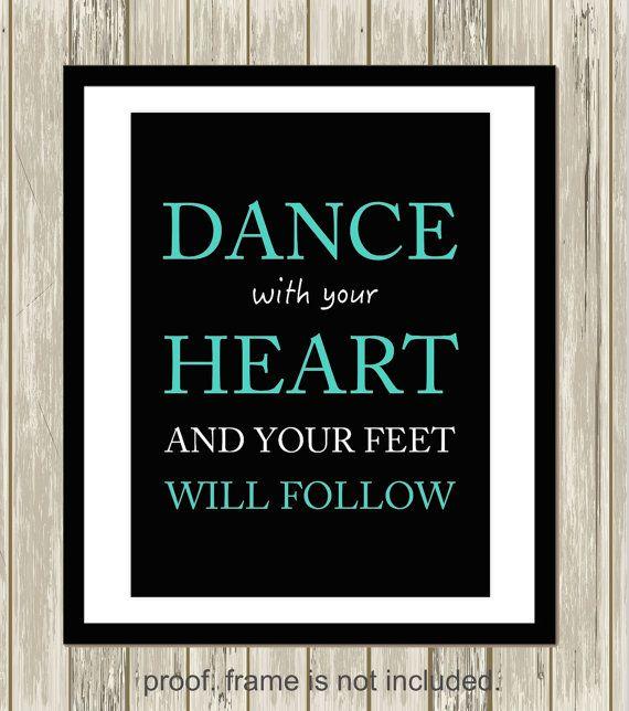 Dance with your heart Irish dance art Irish dancer girls