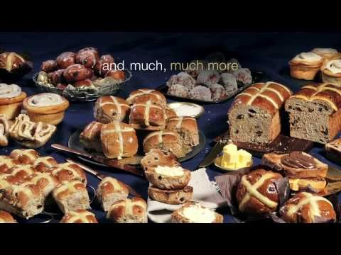 Feast your eyes and discover the ultimate hot cross bun range - YouTube