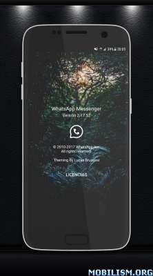 WhatsApp v2.17.52 Mod [Hidden Features Enabled] (NH Mods)[Root]Requirements: 4.0+Overview: WhatsApp Messenger is a messaging app available for Android and other smartphones. WhatsApp uses your phone's Internet connection (4G/3G/2G/EDGE or Wi-Fi, as...