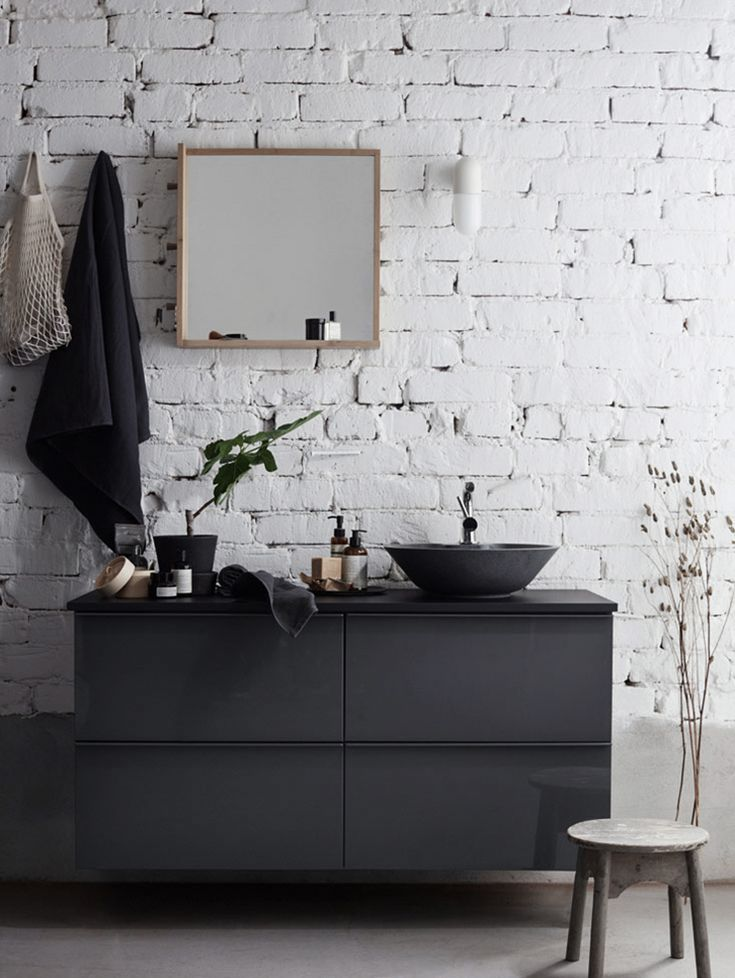Some favorite bathroom details from IKEA in my latest work for Livet hemma.