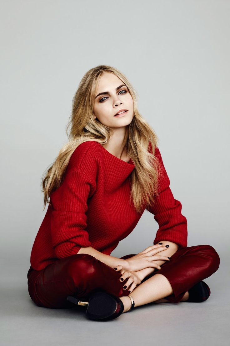 Model Cara Delevingne is Rimmel London's newest brand ambassador, following in the footsteps of fellow Brits Kate Moss and Georgia May Jagger