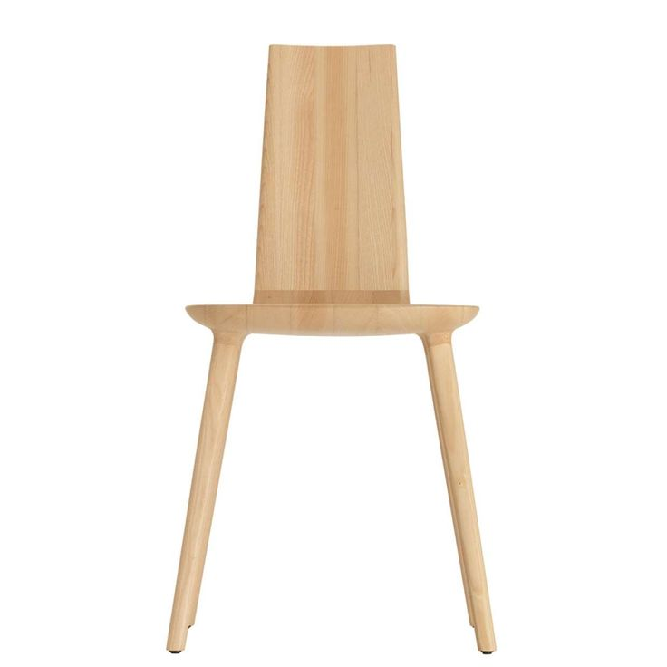 Tabu collection by Eugeni Quitllet. The collection of chairs and side table designed by Eugeni Quitllet reinterprets the hand-crafted tradition.  Presented in different versions, the basis of this project consists in joining different elements in solid ash wood, which are digitally operated and fitted together.