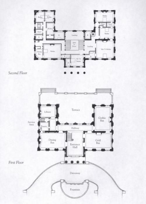 61 best gilded era mansion floor plans images on pinterest