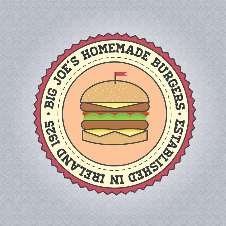 Big Joe's Logo - David Archbold  #graphicdesign #design #art #digital #aminated #logo