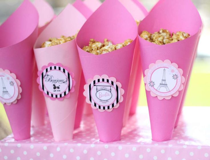 Barbie in Paris Birthday Party Ideas | Photo 4 of 19 | Catch My Party