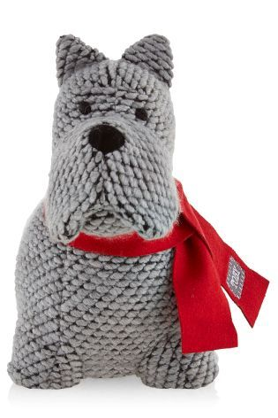 Radley Dog Knitting Pattern : Toby The Dog Doorstop from Next Make A House, A Home ...