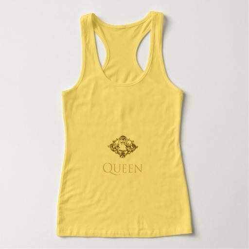 "(""Queen Tank Tops"" Queen_Gold_Jewel_Yellow) #Casual #Color #Daytime #Encouragement #Female #Many #Ownself #Quotes #SelfHelpFeelgoodQuotes #SelfResepct #Shakespeare #Sizes #SleepWear #TeensQuotesShakespeare #Thine #True #Vacation #WearSchool is available on Funny T-shirts Clothing Store   http://ift.tt/2gtsBxR"
