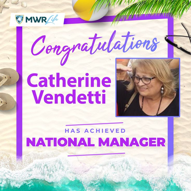 Congratulations Catherine Vendetti on your recent