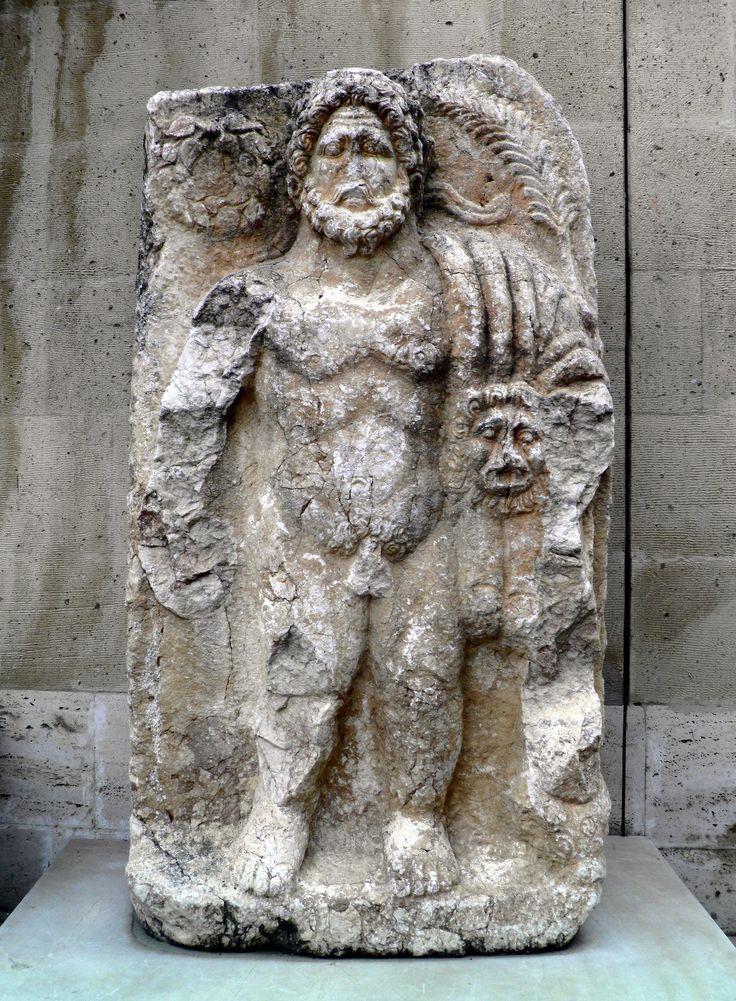 Gilgamesh relief. Burdur museum, Turkey