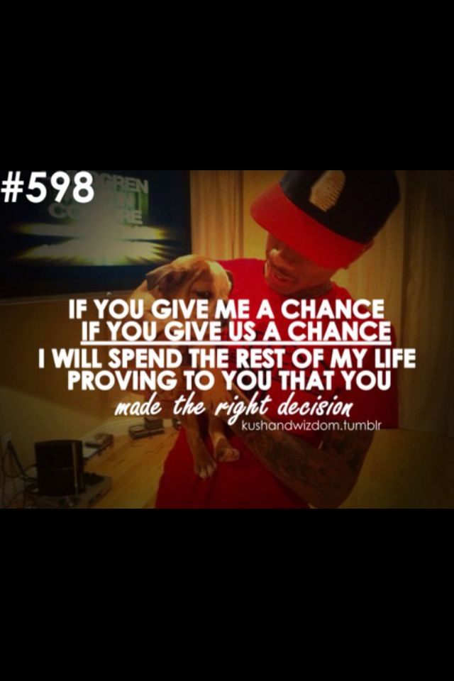 Quotes Giving Chance Second Love