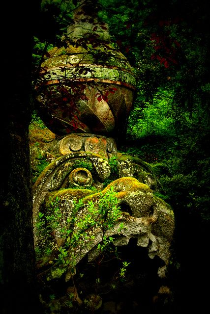 Bomarzo Italy one of my favorite magical places in the world.