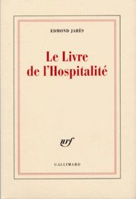 Edmond Jabès, Le Livre de l'Hospitalité