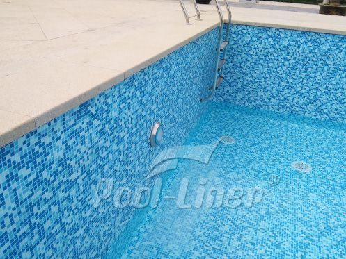This Is The Landy Vinyl Pool Liner Not The Mosaic Tiles