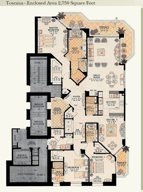 25 best ideas about condo floor plans on pinterest sims for Miami house plans