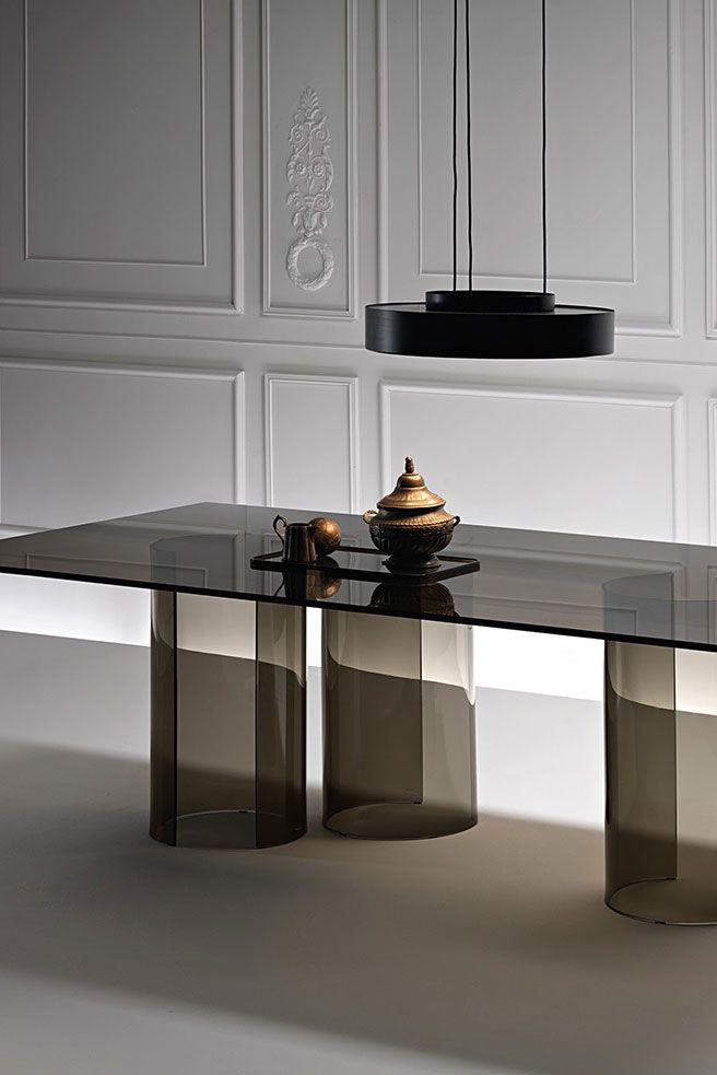 Luxor Dining Table Designed By Rodolfo Dordoni For Fiam Italia