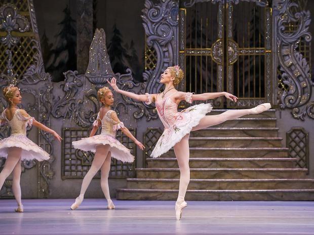 Yasmine Naghdi, First Soloist The Royal Ballet, London, as the Rose Fairy