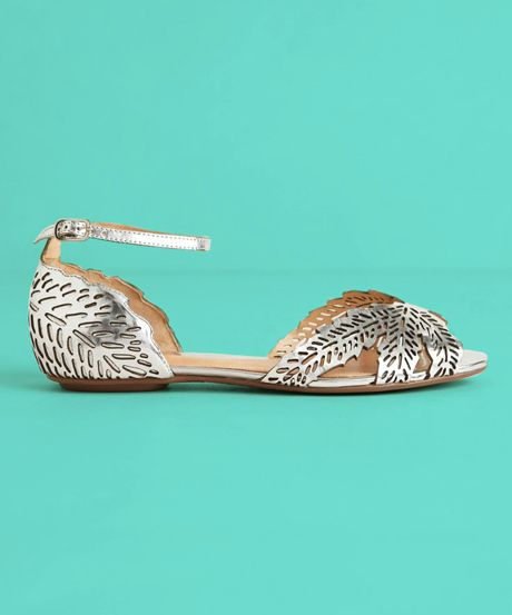Ditch The Heels On Your Wedding Day With These Picks #refinery29  http://www.refinery29.com/bridal-flats