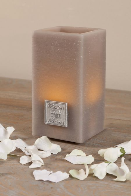 €17,95 Charming Candle Square LED dove L #living #interior #rivieramaison