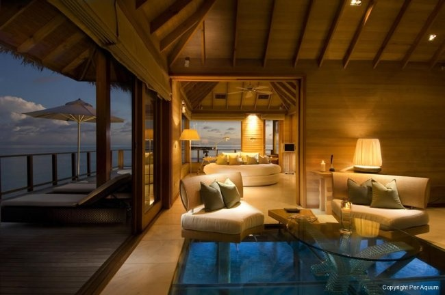 The Maldives - yeah I could live there