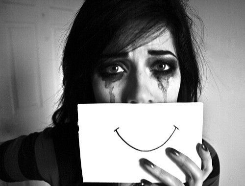 ... fake smile more happy faces sad depression quotes google search fake