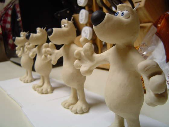 """claymation lesson/handout...I know some kids who will be """"all over this""""."""