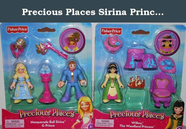 Precious Places Sirina Prince Willow Figure Bundle for Swan Palace. Discover a world of magical surprises!.