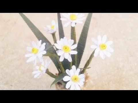 Create a Cute Miniature Daisy Flower Pot - DIY Crafts - Guidecentral - YouTube