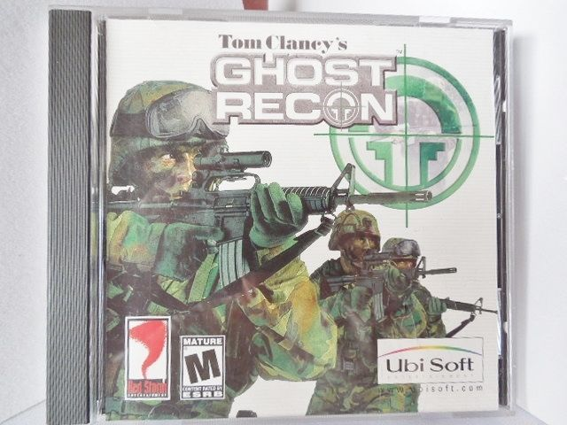 TOM CLANCY'S Ghost Recon (PC 1998) Video Game Windows 98/ME/2000/XP