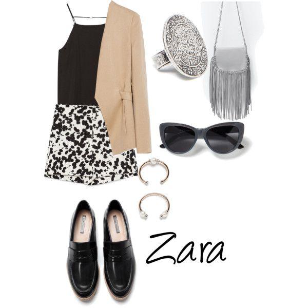 Brand focus: Zara by hajimo on Polyvore featuring polyvore, fashion, style, Zara, zara and fashionset