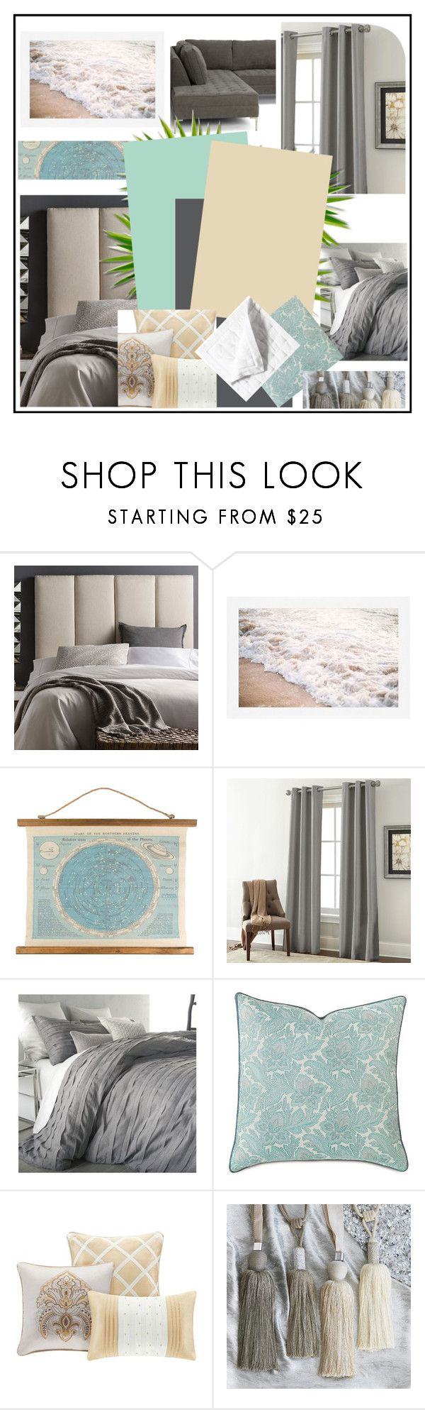 """""""beach apartament"""" by kata-koppany on Polyvore featuring interior, interiors, interior design, home, home decor, interior decorating, Pottery Barn, DKNY, Frontgate and modern"""