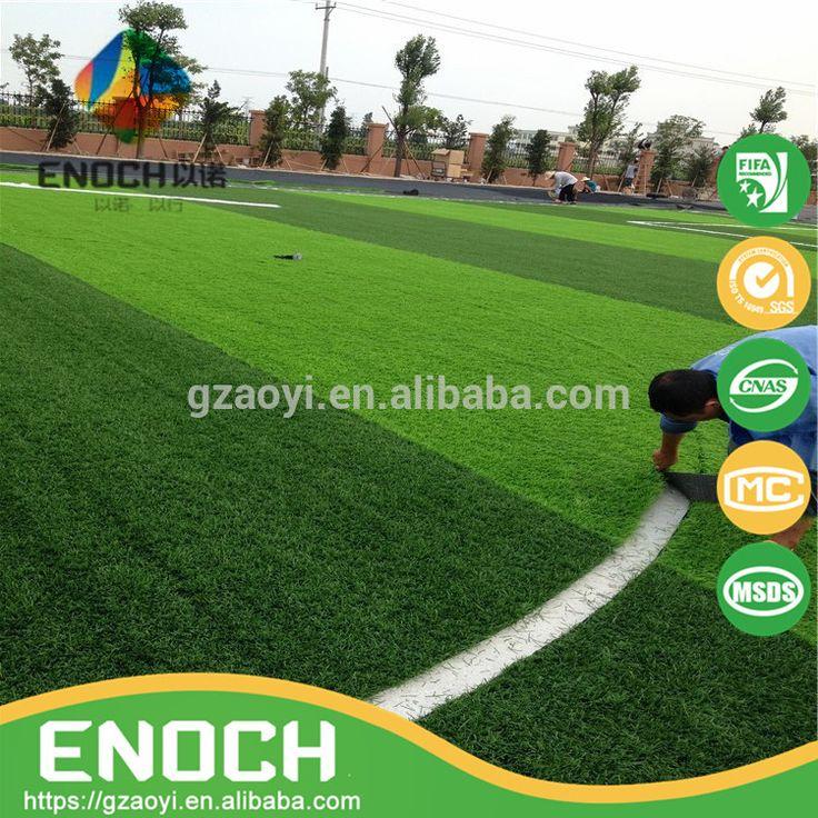 Artificial grass for football pitch football turf interlocking sport flooring