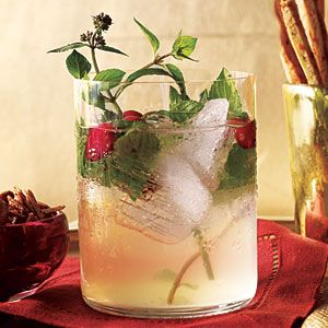 White Cranberry Spritzer: Combine cranberry juice, sugar, rosemary, and 12 mint leaves in a small saucepan; bring to a boil. Remove from heat; cool to room temperature. Strain juice mixture through a sieve into a bowl; discard solids. Stir in lime juice; cover and refrigerate.  2. Combine juice mixture, club soda, and rum in a large pitcher; stir well to combine. Serve mixture over crushed ice. Serve immediately.