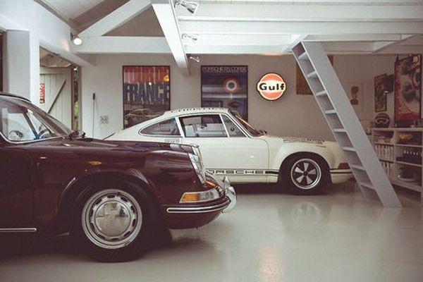 20 Coolest Car Garage Ideas For Man Cave Man Garage Garage Style Porsche