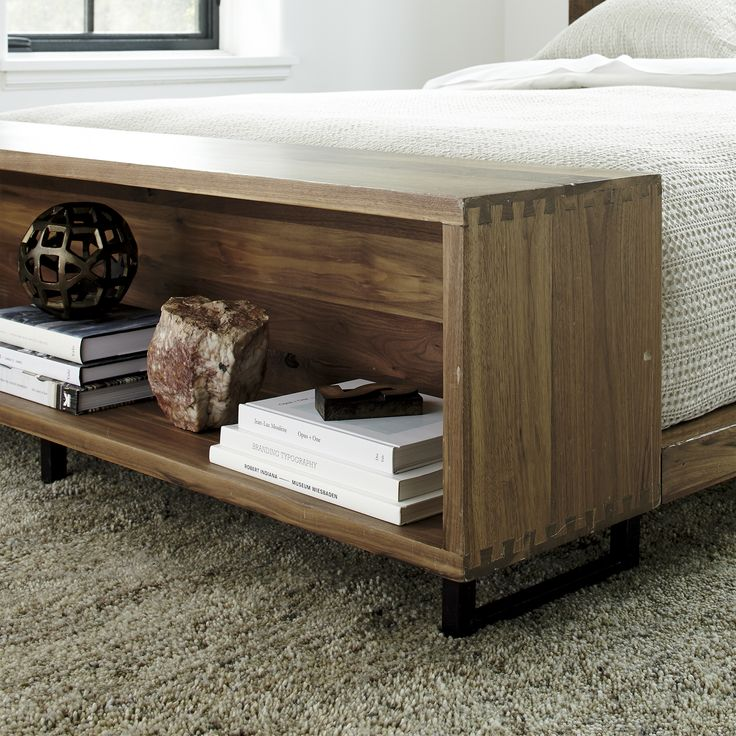 Shop Atwood California King Bed with Bookcase