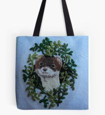 Ermine Embroidery  Tote Bag