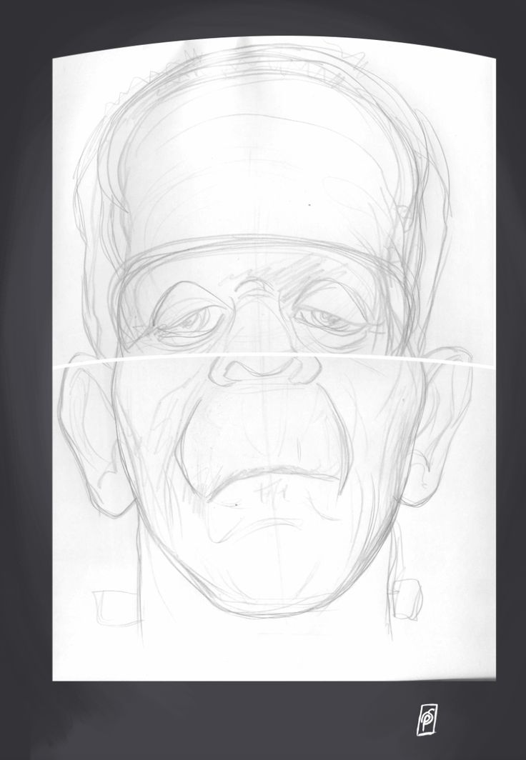 Boris Karloff art | decor | wall art | inspiration | caricatures | home decor | idea | humor | gifts