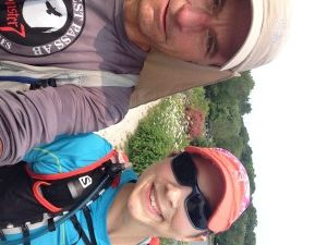 Blind runner Rhonda Marie Avery conquers the 885km Bruce Trail over 20 days.