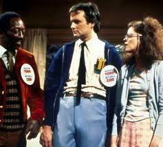 Garrett Morris, Bill Murray and Gilda Radner - SNL. Todd and Lisa Loopner.