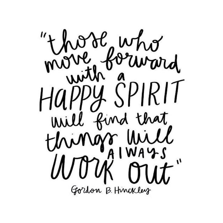 Find some happiness in knowing it's all going to be ok.  by tara.mattson
