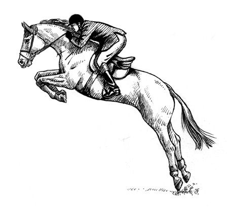 for Horse jumping tattoos