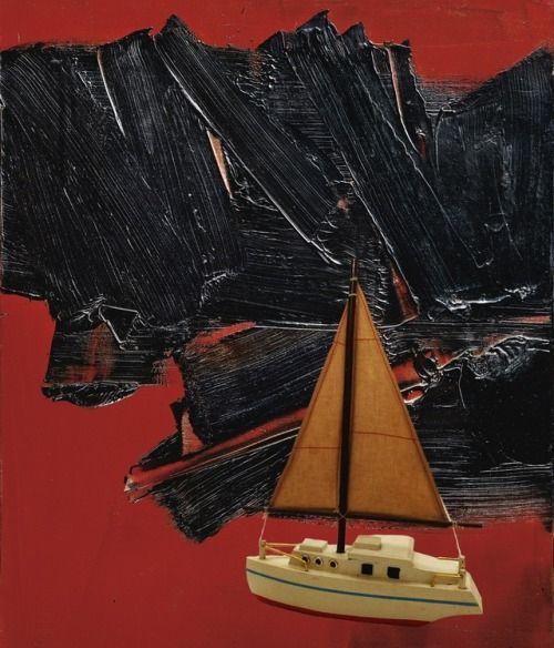 Edmond Simpson  Toy Boat (Soulages) (01-17)