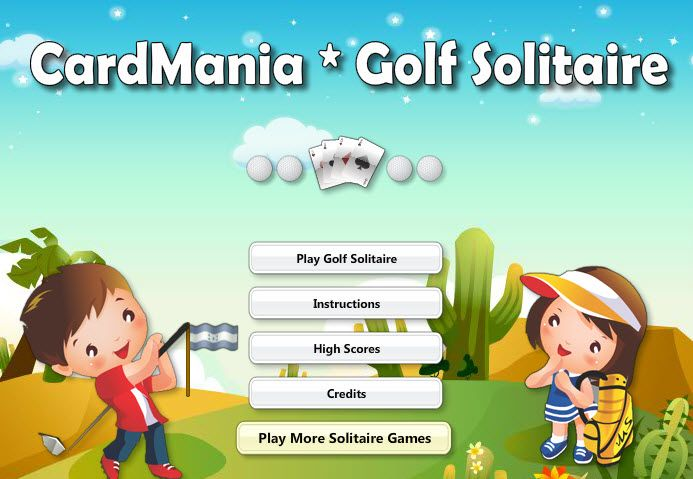 Play #CardManiaGolfSolitaire. Enjoy 30 levels of golf solitaire, in this stunningly simple, addictive card game with a fun theme.