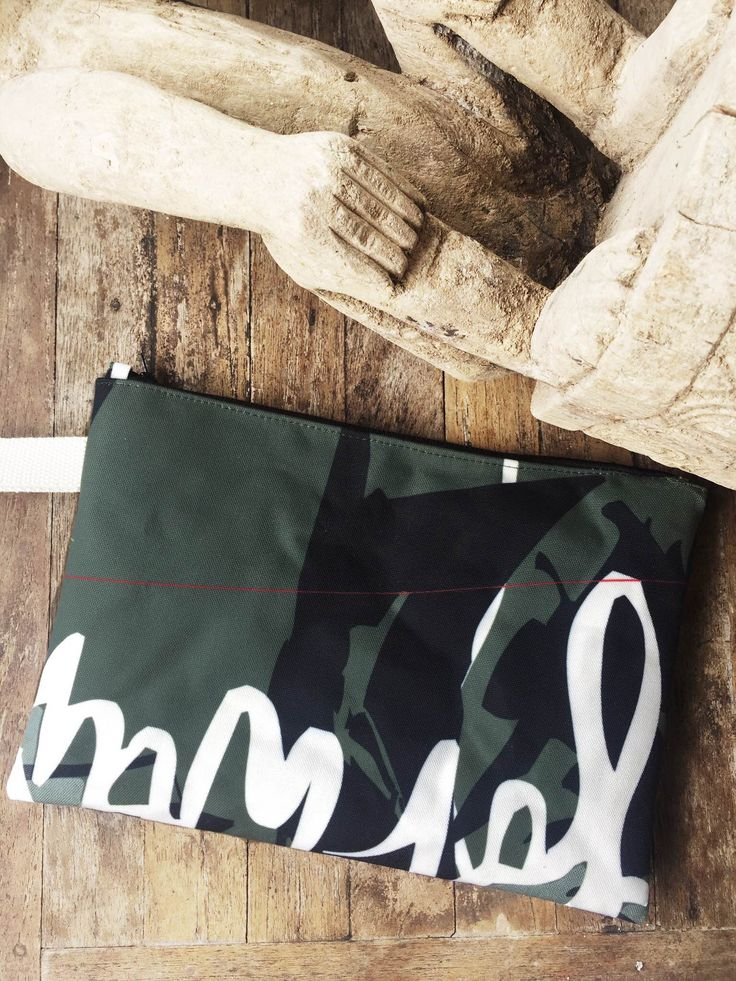 Rough Joy Clutch bag. Wholesale orders. Unique handmade designer's bag printed on natural cotton fabric.